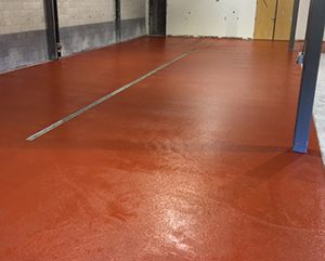 Brewery flooring epoxy urethane mortar