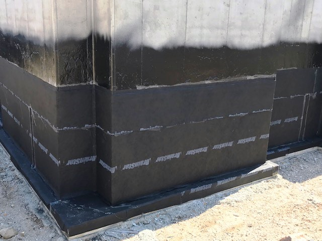 Waterproofing For New Residential Construction Above