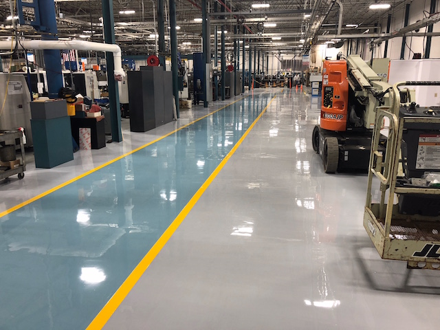 Epoxy Flooring Contractors serving NH, MA, VT, ME