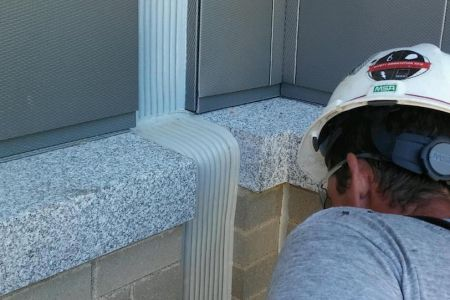 Expansion joint repair service