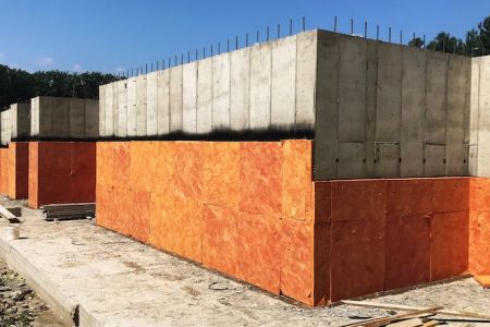 Warm N Dri Foundation Insulation Drainage Board