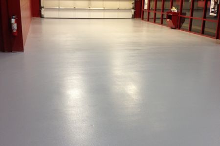 Urethane mortar epoxy top coat