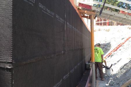 New construction weatherproofing