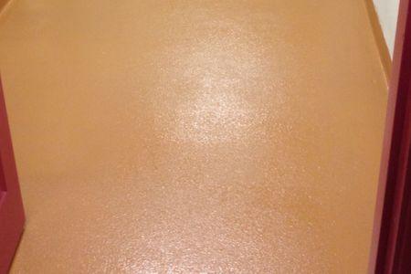 Polycrete urethane floor coating